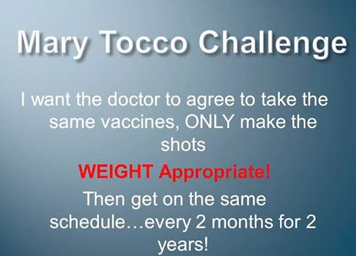 Mary Toco challenge